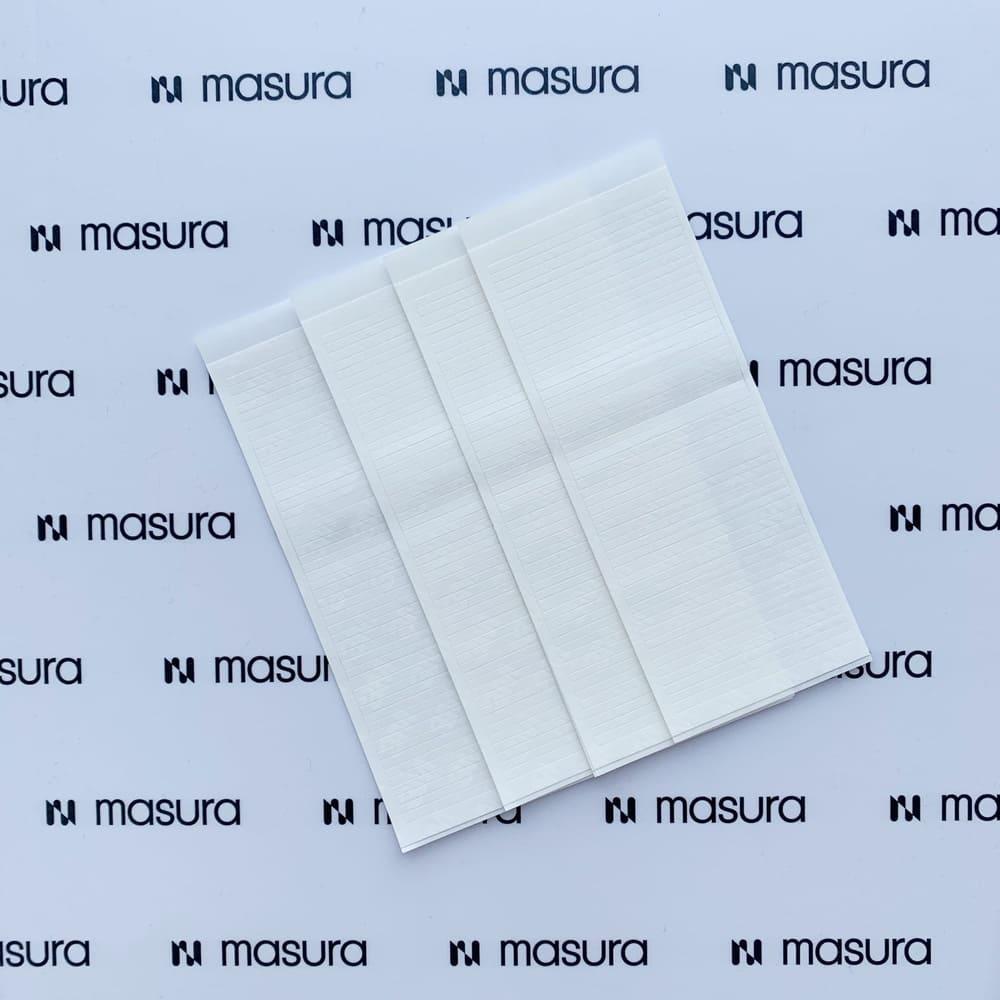 Клейкие полоски, 250 шт в упаковке