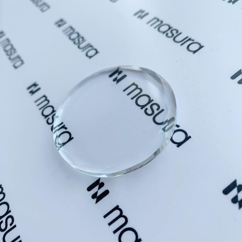 Хрустальный камень для клея, прозрачный - превью