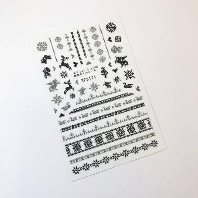 Стикер для дизайна ногтей, Норвежские мотивы, 1-3121