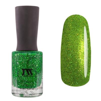 Лак для ногтей Spring Green, 11 мл, 1221