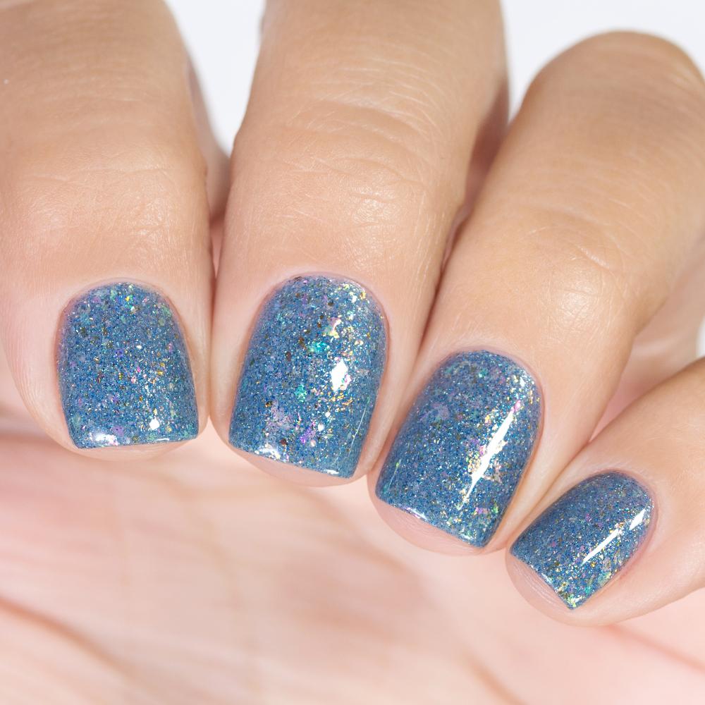 Лак для ногтей Голубой Опал, 3,5 мл