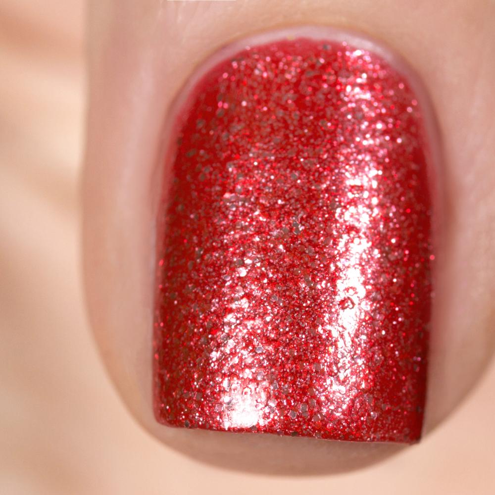 Лак для ногтей Морозная Брусника, 3,5 мл - превью