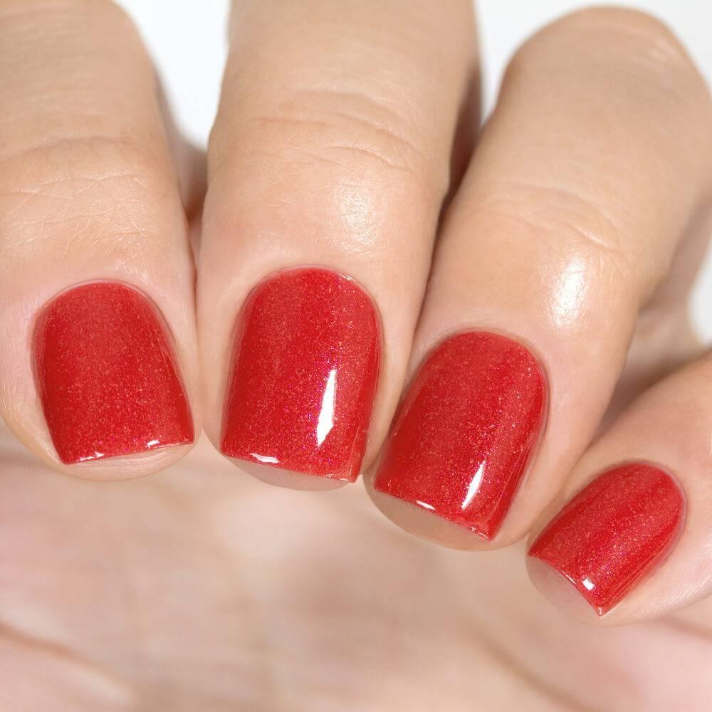 Лак для ногтей Красный Пунш, 11 мл - превью