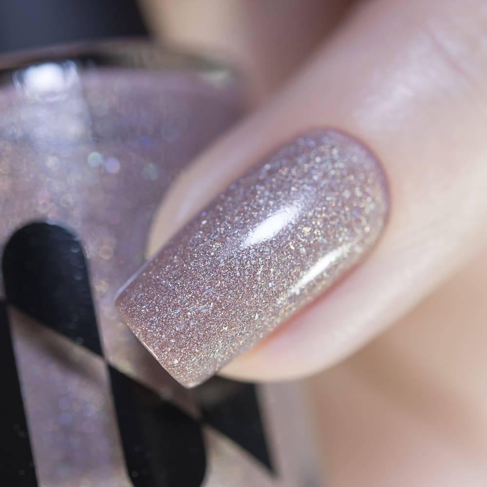 Лак для ногтей Нюдовый Фейерверк, 11 мл - превью