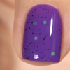 Лак для ногтей Purple bubbly, 11 мл - превью