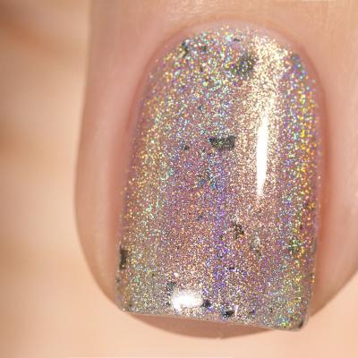 Лак для ногтей Серебряный Бычок, 3,5 мл, 1423M