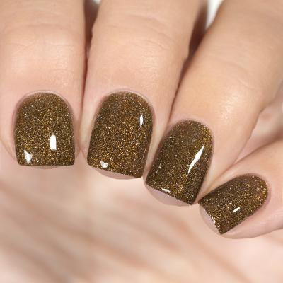 Светоотражающий лак для ногтей Жареные Каштаны, 3,5 мл, 1482M