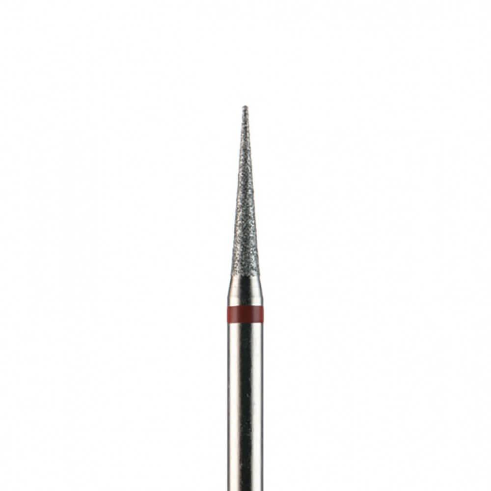 Фреза алмазная, игла 1,6 мм, красная насечка