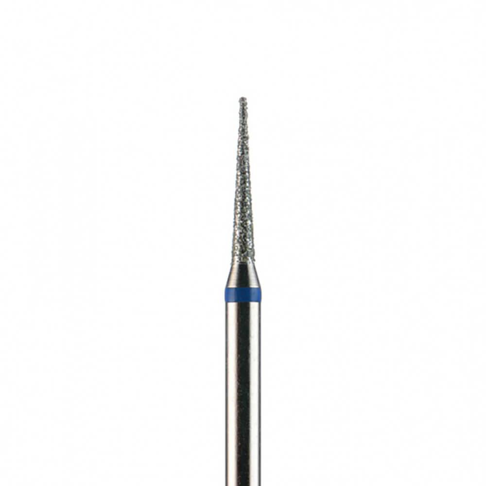 Фреза алмазная, игла 1,6 мм, синяя насечка