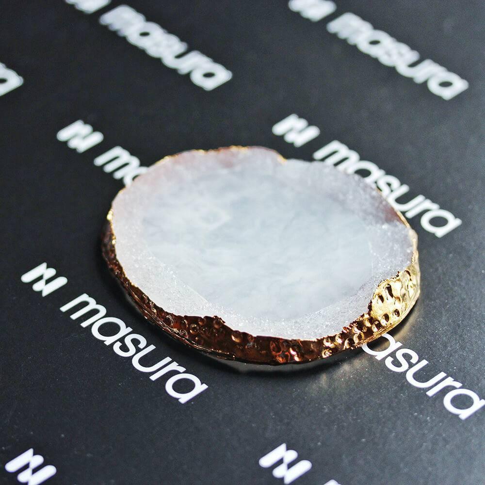 Палета для дизайна ногтей Золотой Срез Агата, белый - превью