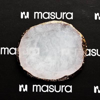 Палета для дизайна ногтей Золотой Срез Агата, белый, 282