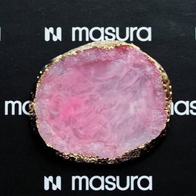 Палета для дизайна ногтей Золотой Срез Агата, розовый, 283