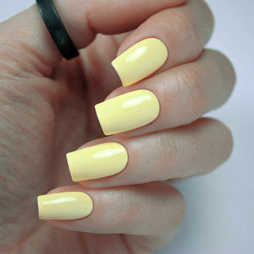 Гель-лак BASIC Трогательный Желтый, 11 мл - превью