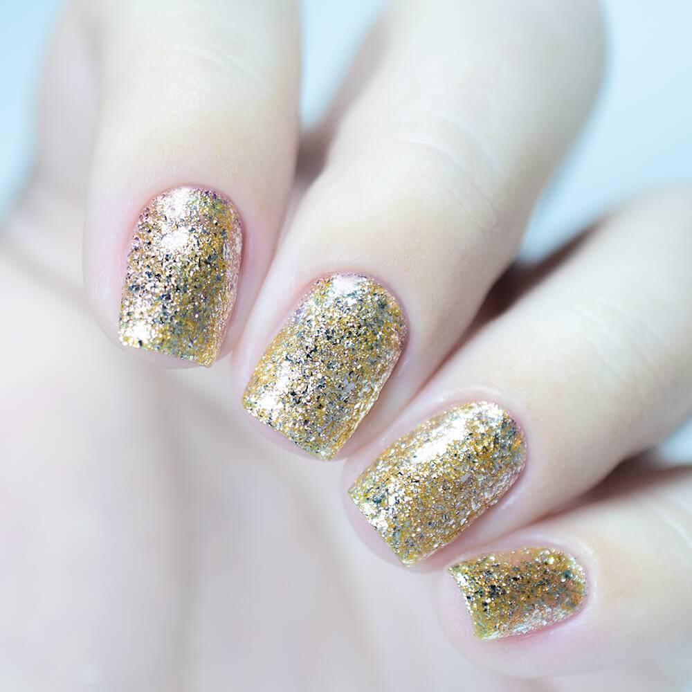 Гель-лак Золотой Песок, 3,5 мл - превью
