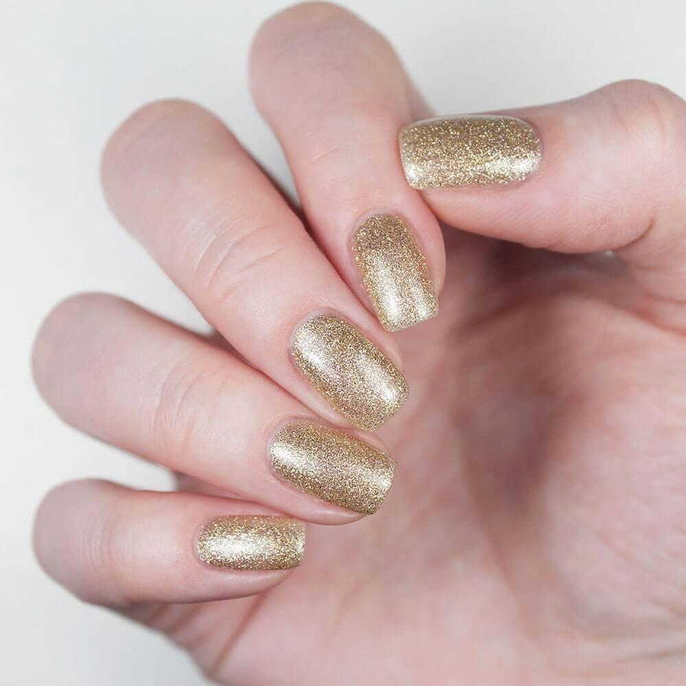 Гель-лак Золотой Салют, 3,5 мл - превью