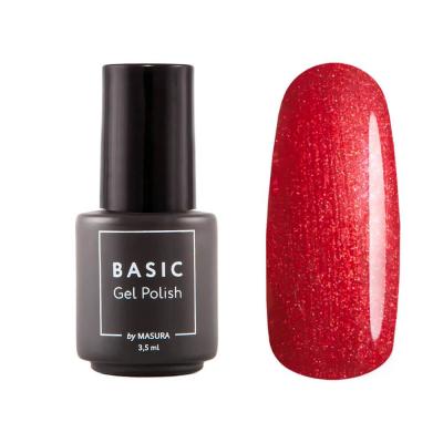 Гель-лак BASIC Красный Чили, 3,5 мл , 294-441M