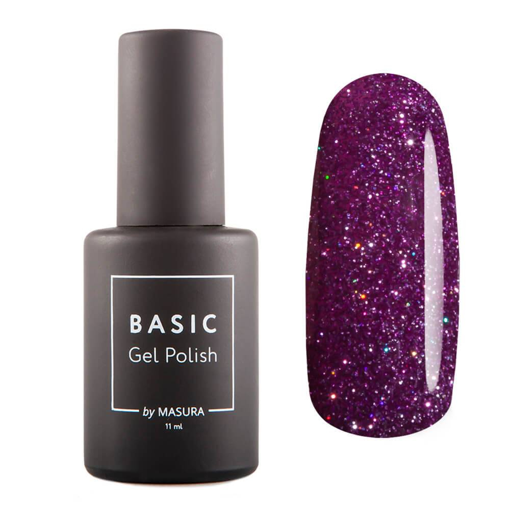 Гель-лак BASIC Пурпурный Микс, 11 мл