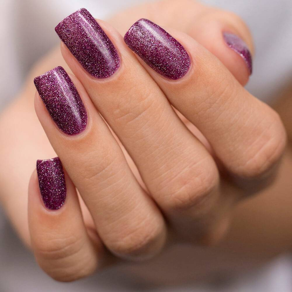 Гель-лак BASIC Пурпурный Микс, 11 мл  - превью