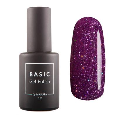 Гель-лак BASIC Пурпурный Микс, 11 мл , 294-476S
