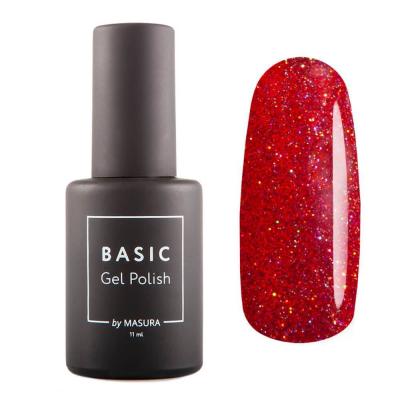 Гель-лак BASIC Шикарный Красный, 11 мл , 294-479S