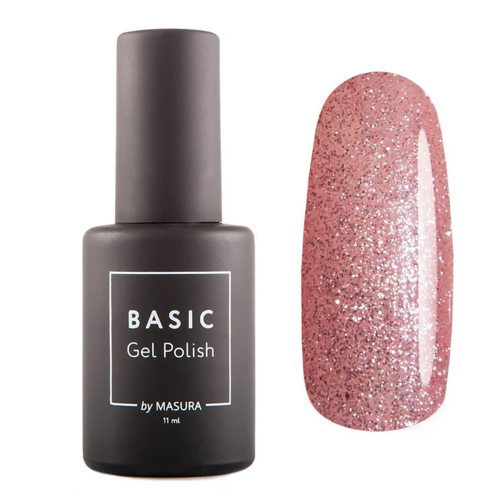 Гель-лак BASIC Розовый Бриллиант, 11 мл