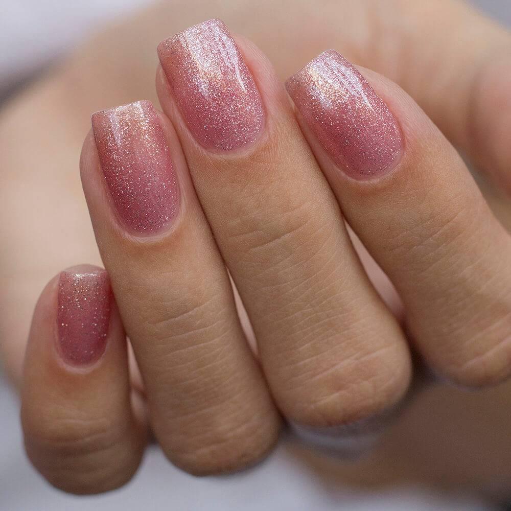 Гель-лак BASIC Розовый Бриллиант, 11 мл  - превью