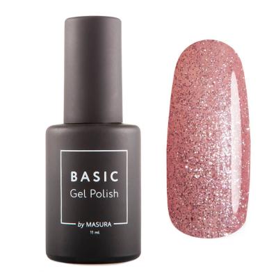 Гель-лак BASIC Розовый Бриллиант, 11 мл , 294-513S