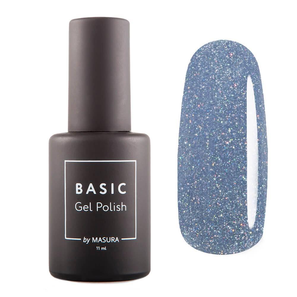 Гель-лак BASIC Синий Метеорит, 11 мл