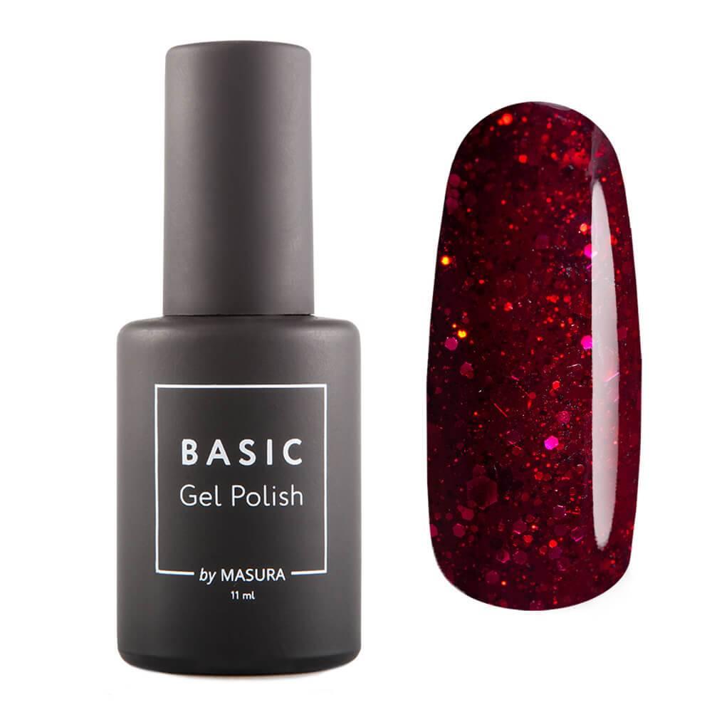 Гель-лак BASIC Красная Галактика, 11 мл