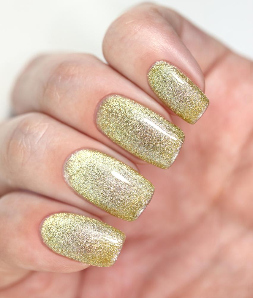 Гель-лак Золотой Песок , 3,5 мл - превью