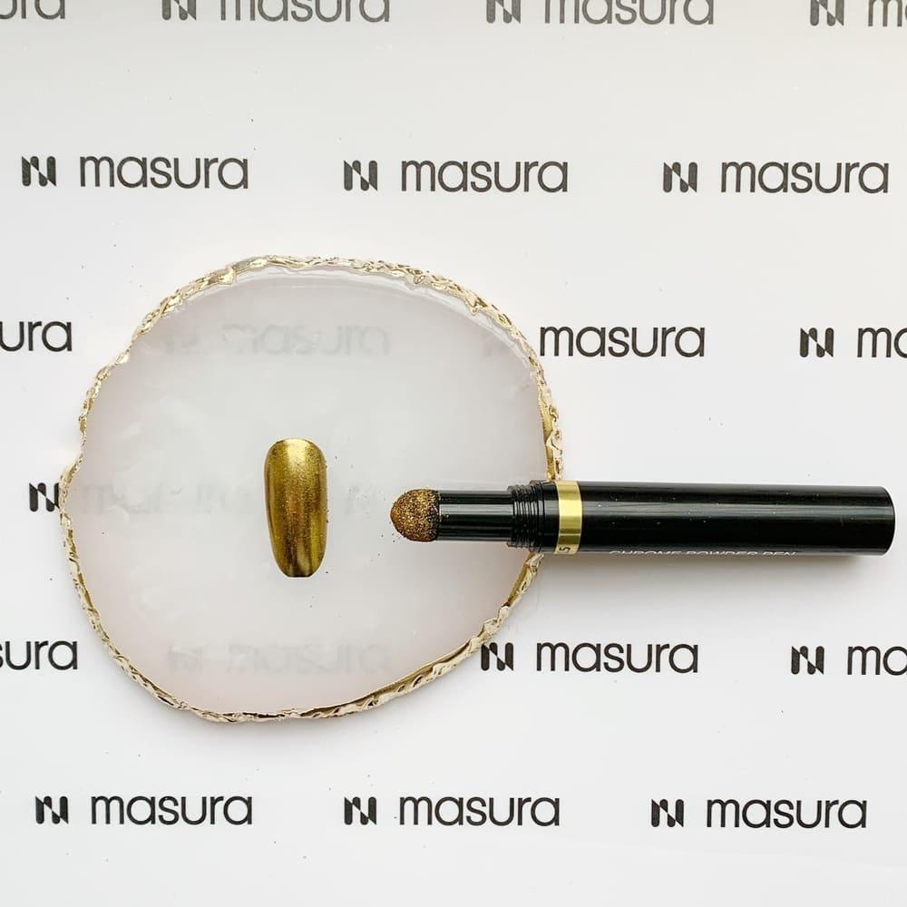 Ручка-втирка, хром золотой
