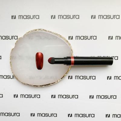 Ручка-втирка, хром красный, 3016