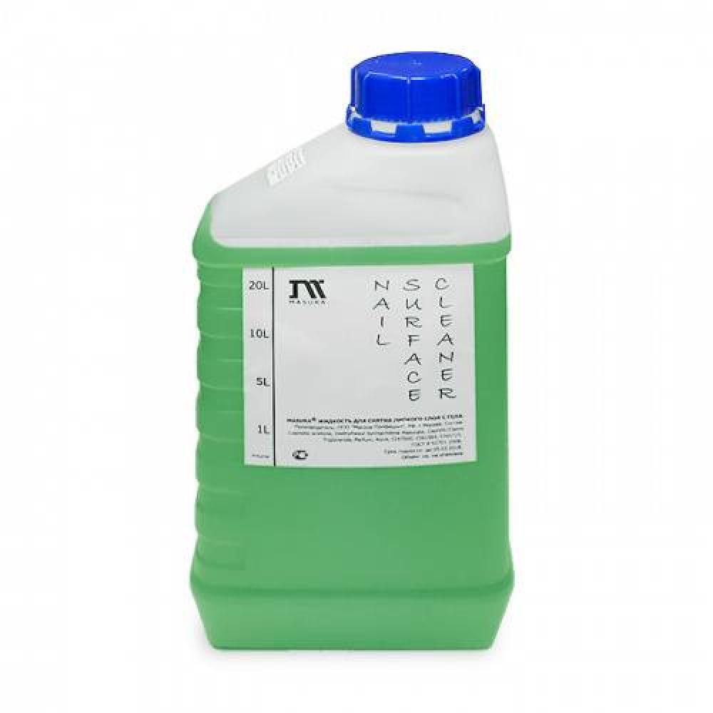 Жидкость для снятия дисперсионного слоя с геля/ADHESIVE REMOVER, 1 л