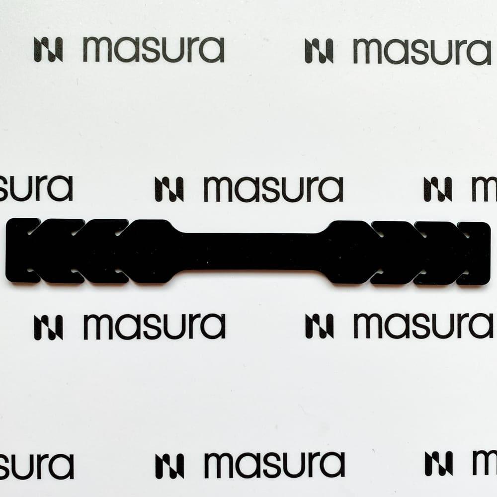 Силиконовый держатель для маски, черный