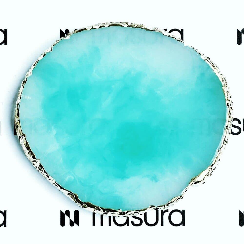 Палета для дизайна ногтей Золотой Срез Агата, зеленый