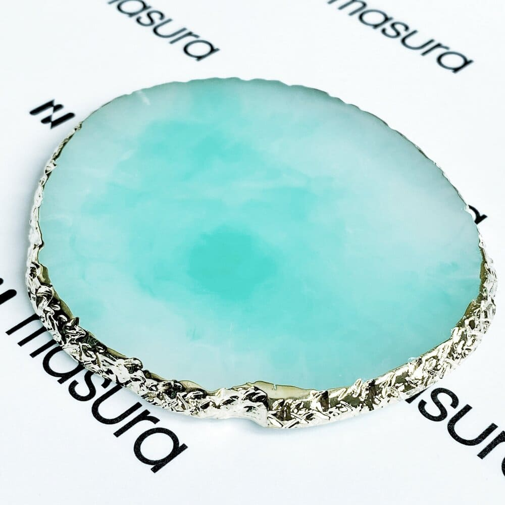 Палета для дизайна ногтей Золотой Срез Агата, зеленый - превью