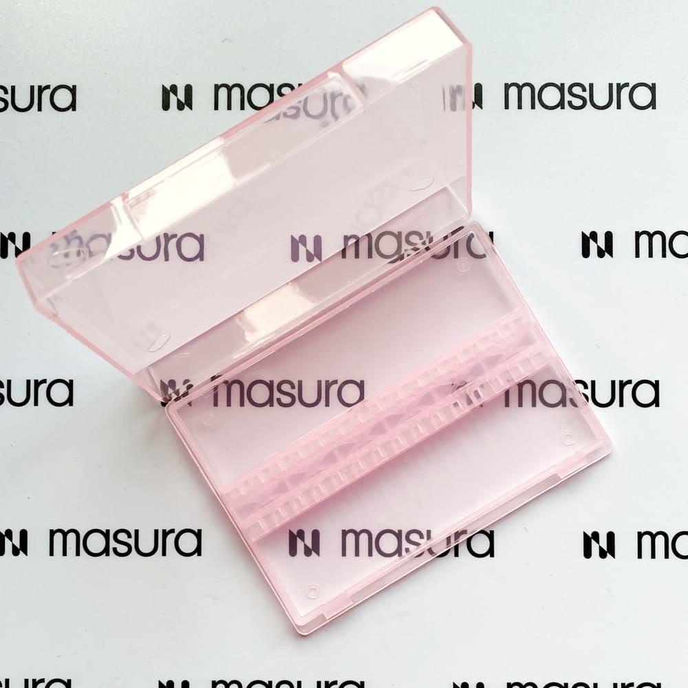 Органайзер для хранения фрез, розовый