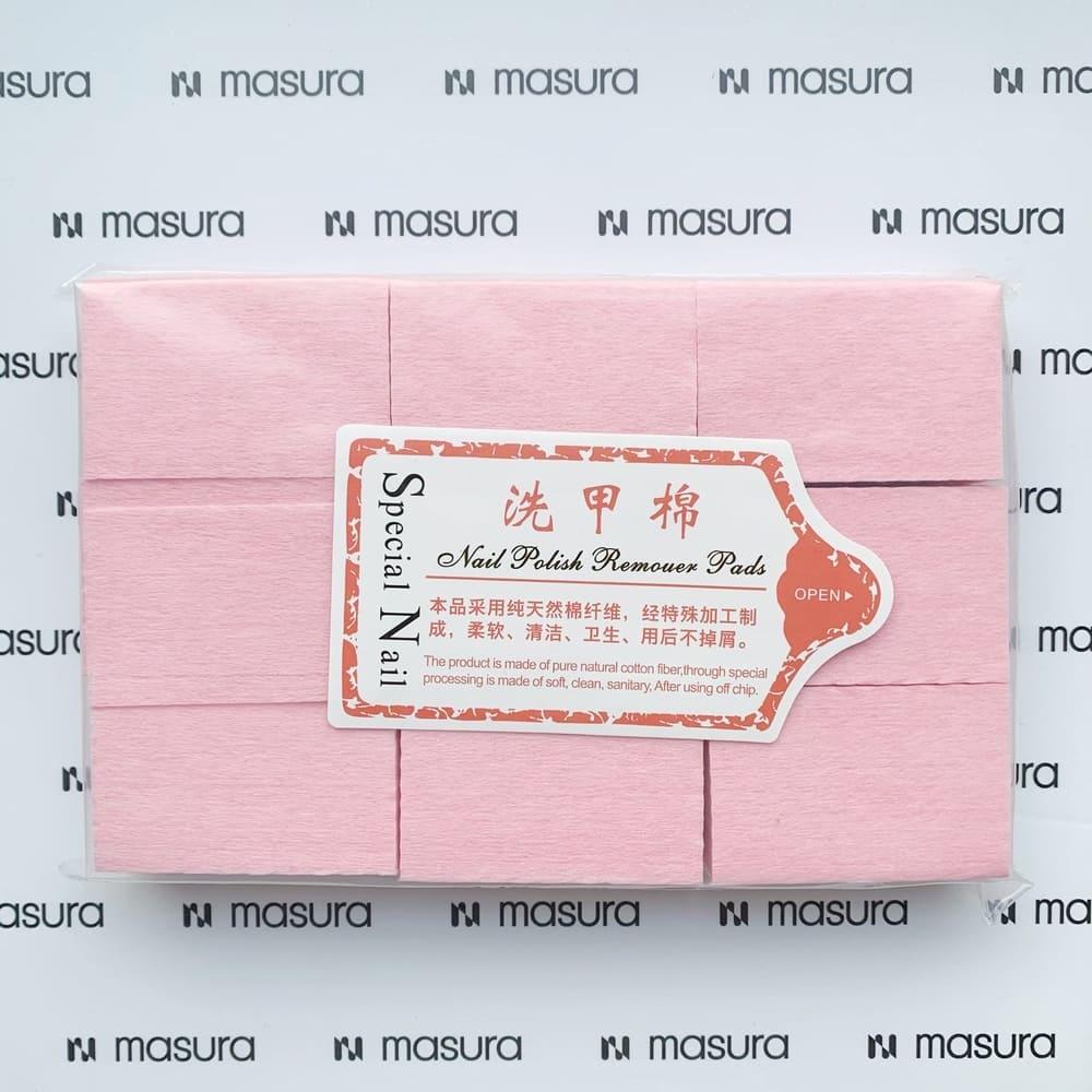 Салфетки безворсовые для маникюра, розовые