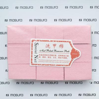 Салфетки безворсовые для маникюра, розовые , 345