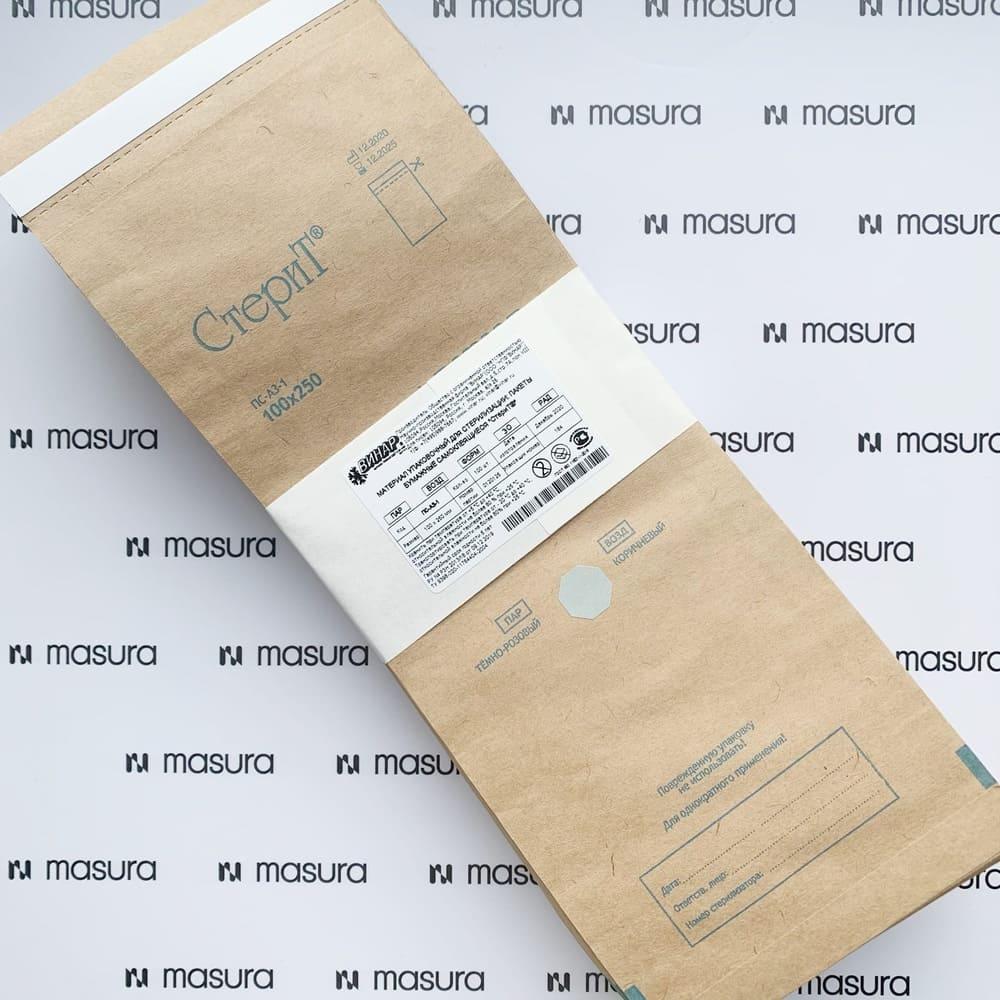 Крафт-пакеты для стерилизации, 100 шт