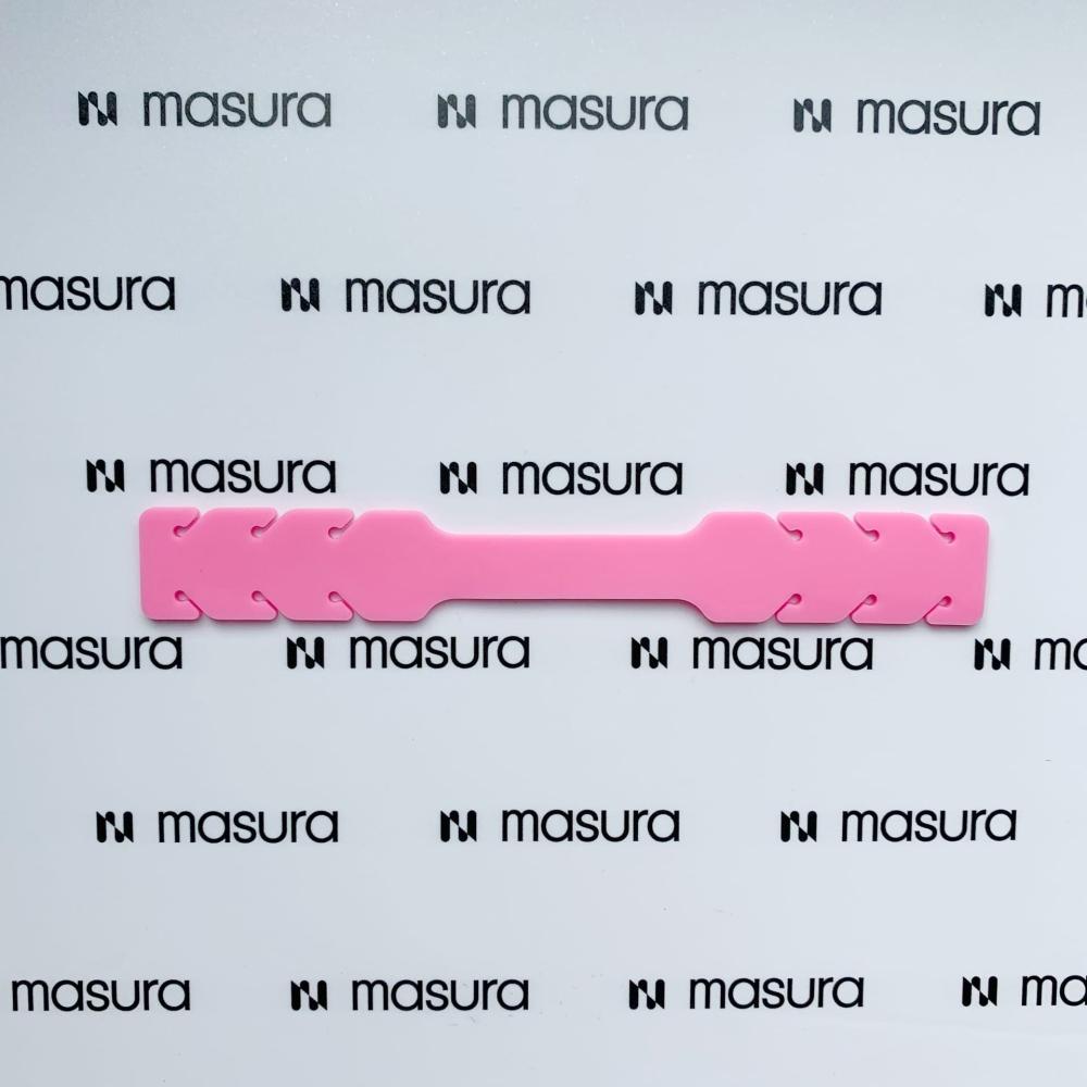 Силиконовый держатель для маски, розовый