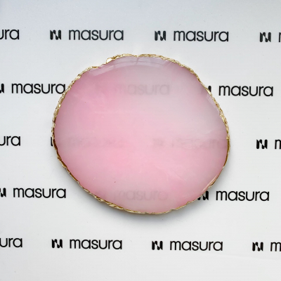 Палета для дизайна ногтей Золотой Срез Агата, светлый-розовый, 360