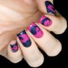 Трафарет для дизайна ногтей Сердца - превью