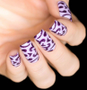 Трафарет для дизайна ногтей Свадебный - превью