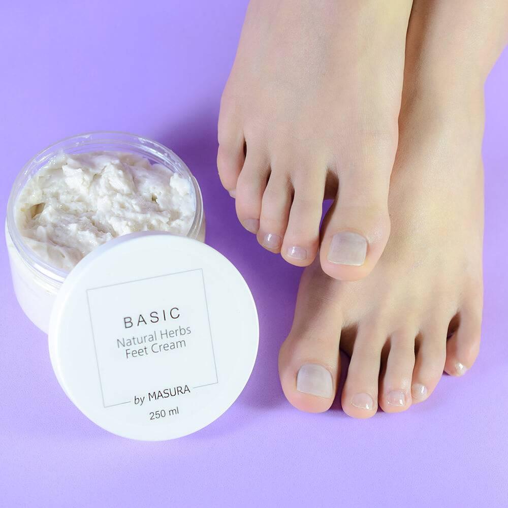 Освежающий крем для ног с натуральными травами, 250 мл - превью