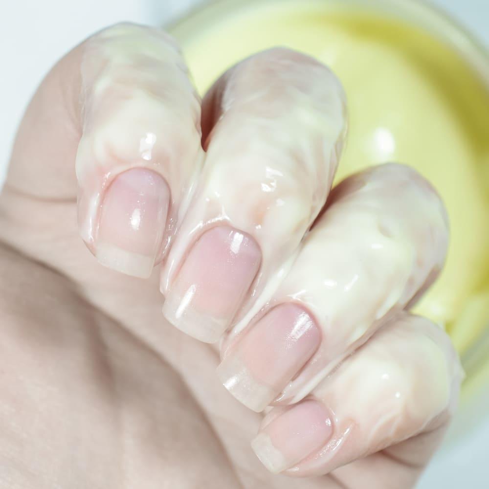 Легкий крем для рук и тела «Лимонный Пирог» на основе масел сои и кокоса, 50 мл - превью