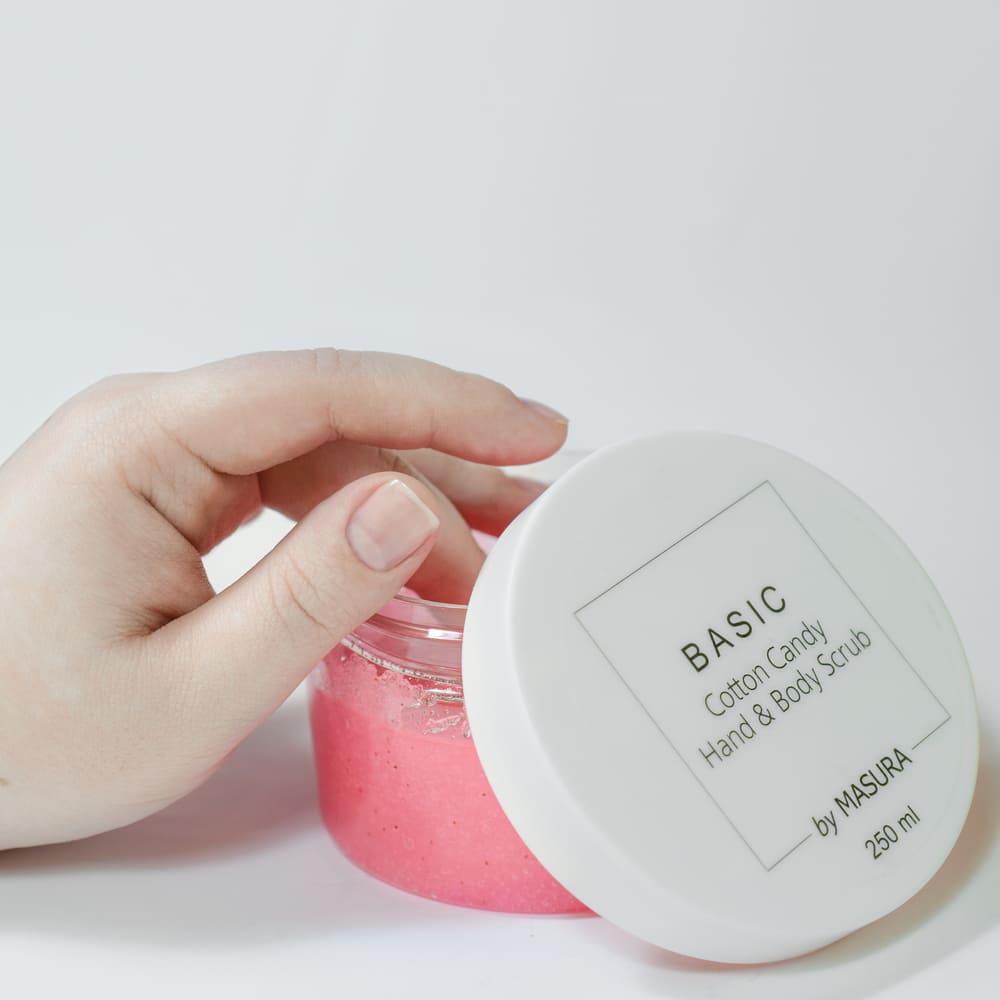 Сахарный скраб для рук и тела «Cotton Candy», 250 мл - превью