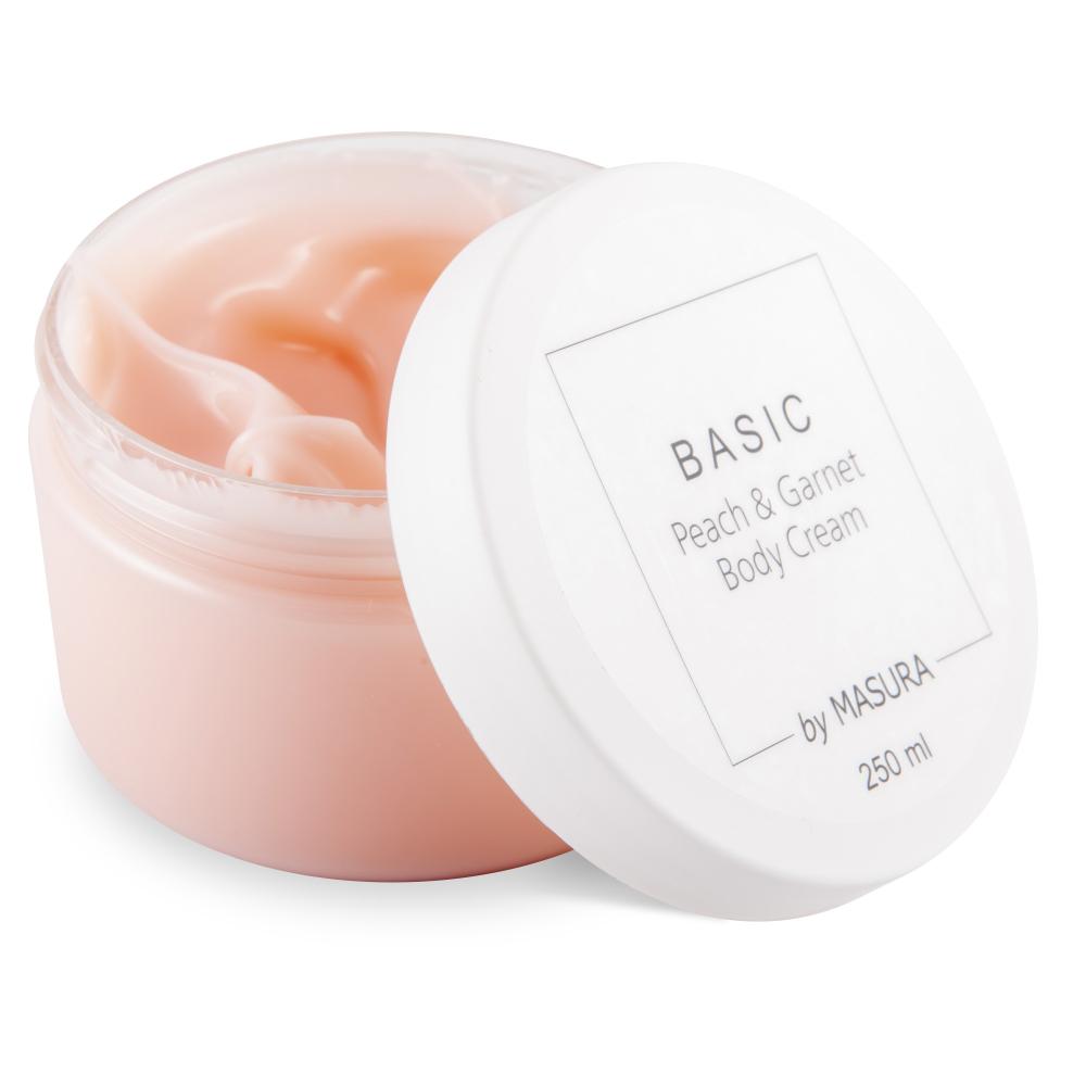 Крем для тела с маслом персика и граната BASIC Peach and Garnet Body Cream, 250 мл - превью