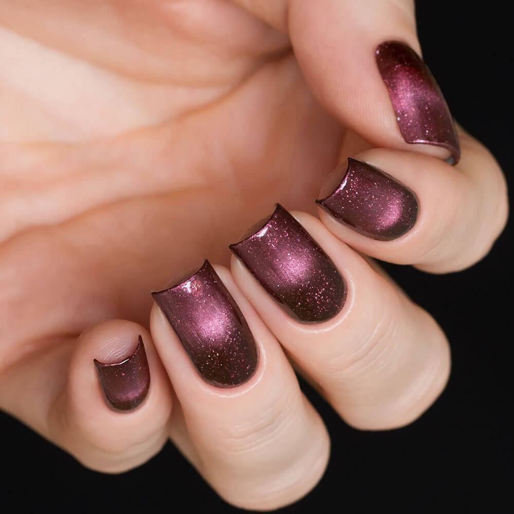 Лак для ногтей «Туманность Красный Квадрат», 3,5 мл  - превью