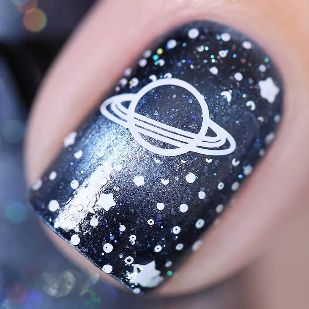 Лак для ногтей Две Луны Сатурна, 11 мл - превью